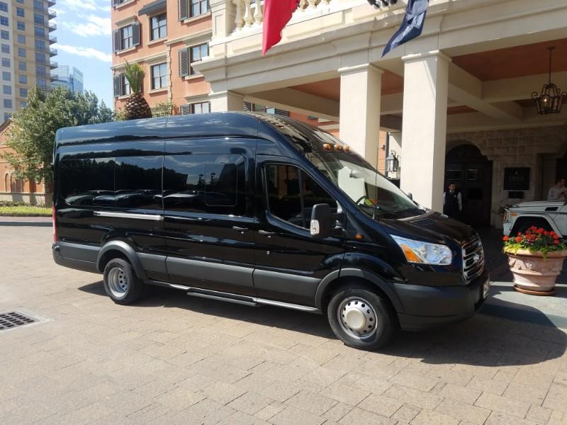Houston Van Rental Van Transportation Royal Limo And