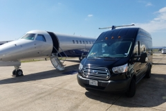 Houston passenger van airport transportation