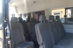 Houston passenger van seats