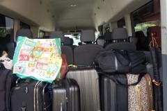 Houston passenger van cargo