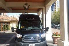 Houston passenger van