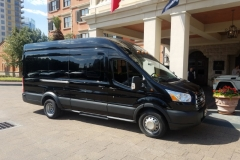 Houston passenger van rental
