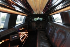 Houston limousine interiors