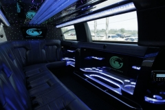 Houston limo interior