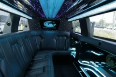 Houston limousine interior