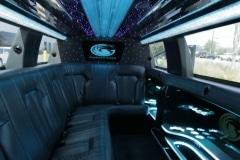 Houston limousine interior