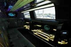 Houston stretch limo interior