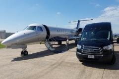 houston-airport-passenger-van