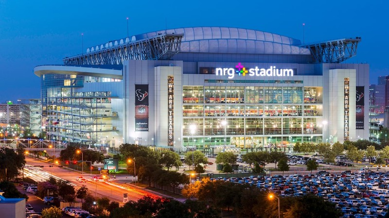 Houston NRG stadium limousine