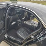 Lincoln Continental back seat