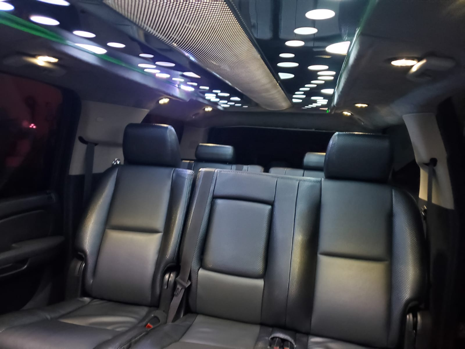 Houston Stretch Limo Interior 2