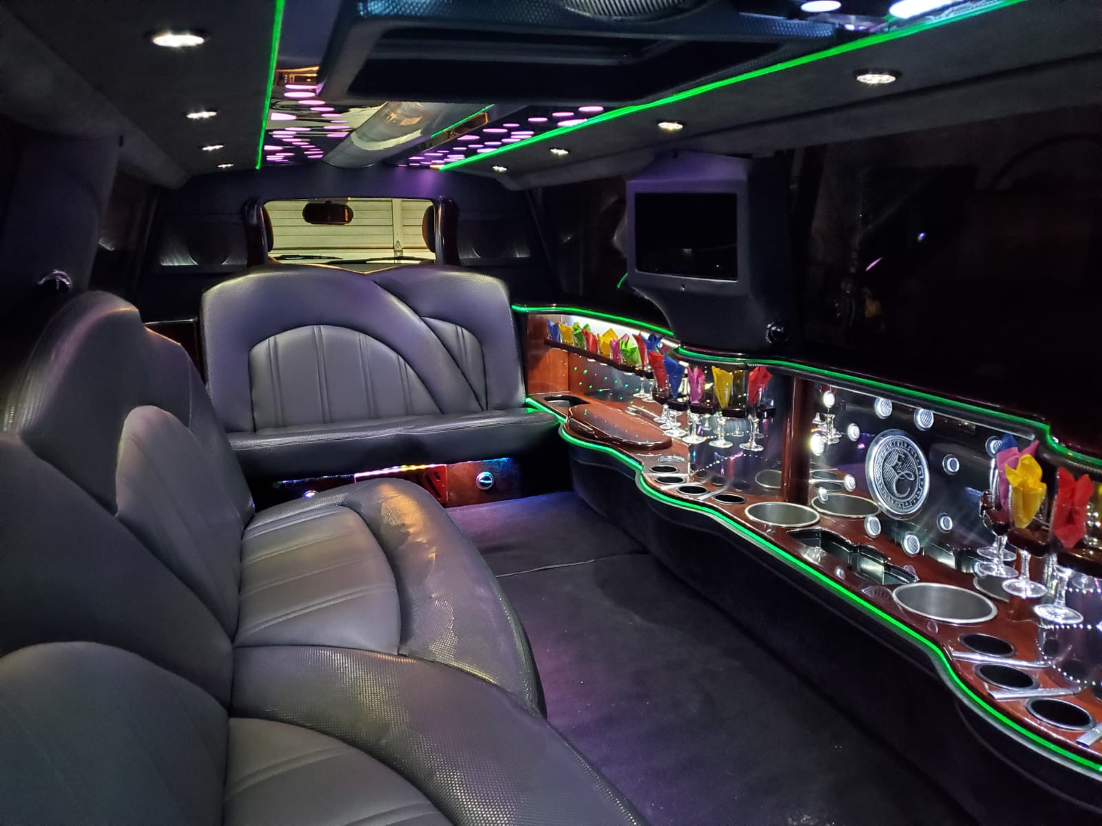 Houston Stretch Limo Interior 3
