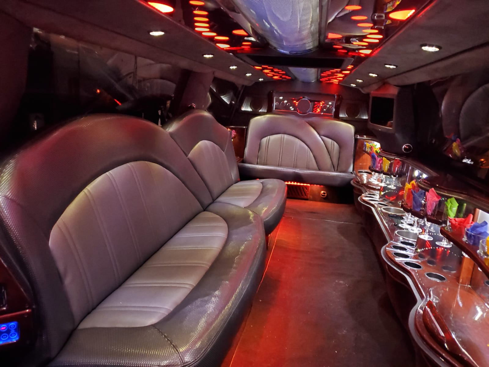 Houston Stretch Limo Interior 6
