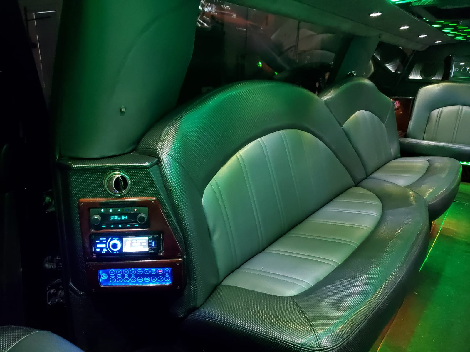 Houston Stretch Limo Interior 7
