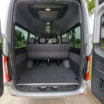 mercedes sprinter passenger van cargo space